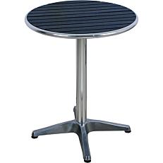 Τραπέζι MIMOSA GARDEN αλουμινίου non wood Φ60
