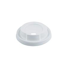 Καπάκια RIVA CLASSICS PS με τρύπα, λευκά 90mm (100τεμ.)