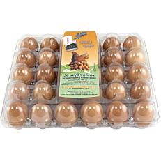 Αυγά ΤΣΑΟΥΣΗΣ φρέσκα μεσαία (30x53-63g)