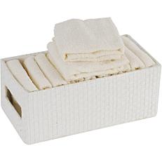 Πετσέτα λαβέτα βαμβακερή σε κουτί 30x30cm