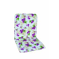 Μαξιλάρι πολυθρόνας με χαμηλή πλάτη floral (2τεμ.)