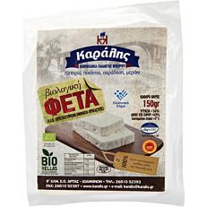 Τυρί ΚΑΡΑΛΗΣ φέτα βιολογική (bio) (150g)