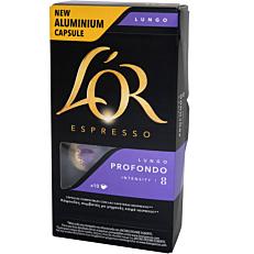 Καφές L'OR espresso lungo profondo σε κάψουλες (10x5,2g)