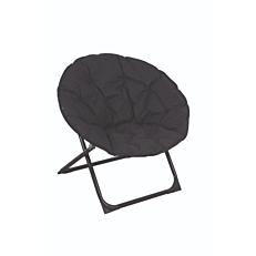 Πολυθρόνα μεταλλική relax πτυσσόμενη γκρι