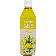 Aloe Vera PREMIUM ALOE πράσινου τσαγιού με λεμόνι (500ml)