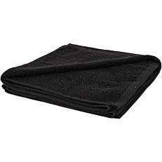 Πετσέτα YASEMI σώματος 100% βαμβακερή μαύρη 70x140cm