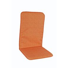 Μαξιλάρι πολυθρόνας με ψηλή πλάτη πορτοκαλί (2τεμ.)