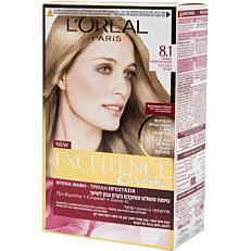 Βαφή μαλλιών L'OREAL excellence ξανθό ανοιχτό σαντρέ no.8.1