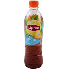 Αφέψημα LIPTON ροδάκινο χωρίς ζάχαρη (500ml)