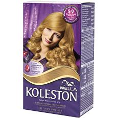 Βαφή μαλλιών WELLA Koleston ξανθό πολύ ανοιχτό no.9/0 με κρέμα αναζωογόνησης χρώματος (50ml)