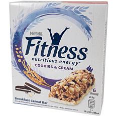 Μπάρα δημητριακών FITNESS cookies and cream (6x23,5g)