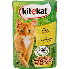 Τροφή KITEKAT γάτας fresh pack με κοτόπουλο (100g)