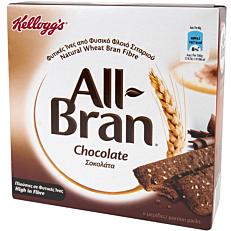 Μπάρα δημητριακών KELLOGG'S All Brand chocolate (6x40g)