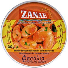 Κονσέρβα ΖΑΝΑΕ φασόλια γίγαντες σε σάλτσα τομάτας (280g)