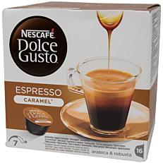 Καφές NESCAFÉ dolce gusto espresso caramel σε κάψουλες (16x83,2g)