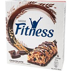 Μπάρα δημητριακών FITNESS σοκολάτα (6x23,5g)