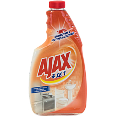 Καθαριστικό και απολυμαντικό AJAX γενικής χρήσης, σε σπρέι ανταλλακτικό (600ml)