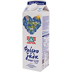 Γάλα ΔΕΛΤΑ φρέσκο πλήρες 3,5% λιπαρά (1lt)
