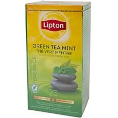 Τσάι LIPTON πράσινο με μέντα (25x1,6g)