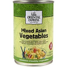 Κονσέρβα ΟRIENTAL EXPRESS ανάμεικτα ασιάτικα λαχανικά (410g)