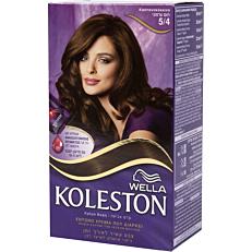 Βαφή μαλλιών WELLA Koleston no.5/4 με κρέμα αναζωογόνησης χρώματος (50ml)