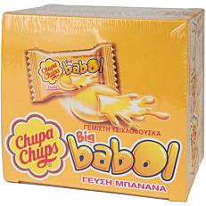 Τσίχλες CHUPA CHUPS Big Babol μπανάνα (60τεμ.)
