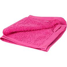 Πετσέτα YASEMI λαβέτα 100% βαμβακερή φούξια 30x30cm