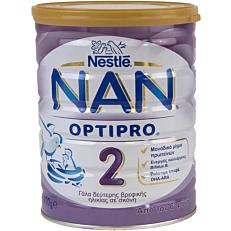 Γάλα σε σκόνη NESTLE NAN 2 optipro για παιδιά 2ης βρεφικής ηλικίας
