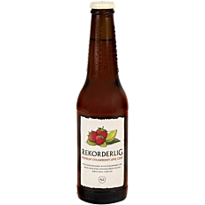 Μπύρα REKORDERLIG strawberry and lime (330ml)