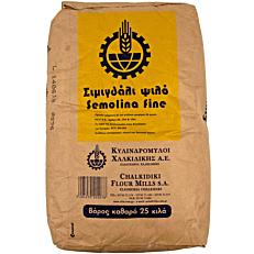 Σιμιγδάλι ΚΥΛΙΝΔΡΟΜΥΛΟΙ ΧΑΛΚΙΔΙΚΗΣ ψιλό (25kg)