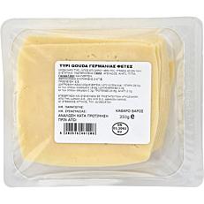 Τυρί ΣΚΛΑΒΕΝΙΤΗΣ gouda σε φέτες Γερμανίας(350g)