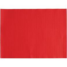Σουπλά Plain κόκκινα 30x40cm (250τεμ.)