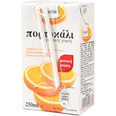 Φυσικός χυμός ΜΑΡΑΤΑ πορτοκάλι (250ml)