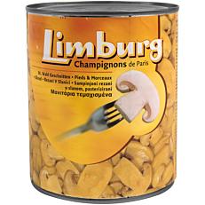 Κονσέρβα LIMBURG μανιτάρια κομμένα (800g)