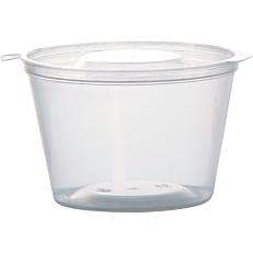 Μπολ με ενσωματωμένο καπάκι, για σως 120ml (50τεμ.)
