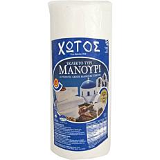 Τυρί ΧΩΤΟΣ μανούρι εκλεκτό (~2,2kg)