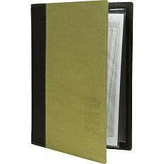 Θήκη μενού SECURIT Trendy, 4 σελίδες Α4, πράσινη