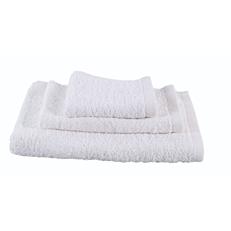 Πετσέτα RESORT LINE λαβέτα 100% βαμβακερή λευκή 30x30cm