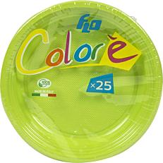 Πιάτα πλαστικά σε πράσινο χρώμα 17oz (25τεμ.)