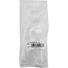 Κουτάλια πλαστικά διαφανή (25τεμ.)