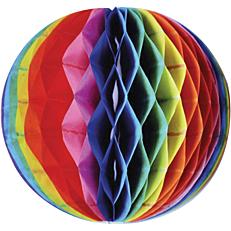 Διακοσμητική χάρτινη μπάλα σε 6 χρώματα