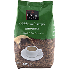 Καφές RIVA CAFÉ ελληνικός αλεσμένος (487g)