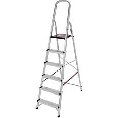 Σκάλα PALBEST Hobby αλουμινίου, 5+1 σκαλιών