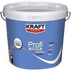 Χρώμα KRAFT Profi Exterior ακρυλικό (9lt)