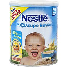 Παιδική κρέμα NESTLE βανίλια με ρυζάλευρο (350g)