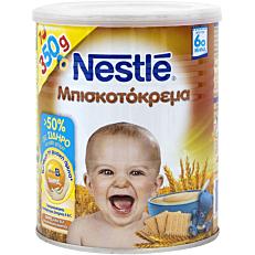 Παιδική κρέμα NESTLE μπισκοτόκρεμα (350g)