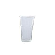 Ποτήρια πλαστικά PP διαφανή 330ml (100τεμ.)