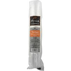 Ποτήρια πλαστικά RIVA CLASSICS PP διαφανή 400ml (50τεμ.)