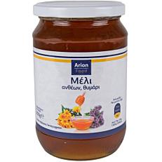 Μέλι ARION FOOD ανθέων με θυμάρι (950g)