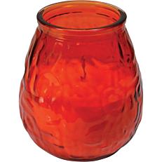 Κερί KCB Bistro Light σε ποτήρι πορτοκαλί